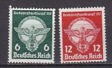 PGL L0073 - DEUTSCES REICH Yv N°630/31 ** - Germania