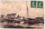 Lesconil, ( 29 ), La Cale Et Le Pont ( Sic ), ,le Port , Coll. Villard 6728  ( Inaug. Bateau Sauvetage ) ( Port Offert ) - Lesconil