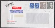 = Lettre Recommandée Espagne 4 10 91, Divers Timbres, Cachets Et Vignettes Avion Et Recommandé - 1991-00 Cartas