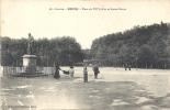 BRIVE - Place Du XIV Juillet Et Statue Brune - Brive La Gaillarde
