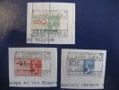Drie Fiscale Zegels / 3 Timbres Fiscales - Steuermarken