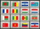 1980 Onu New York Bandiere Flags Drapeaux Set MNH** B550 - Stamps