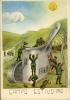 SCUOLA MILITARI MILANO CAMPO ESTIVO 1942 ILLUSTRATORE ARMA - Reggimenti