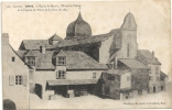 BRIVE - L'Eglise St-Martin, L'Hôtel De Ville Et Le Pignon Du Palais De Justice - Brive La Gaillarde