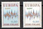 Finland 1972 Europa MNH  SG 790,791 - Finlande