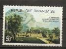 Rwanda 1977 N° PA 11 ** Langue Francaises, Français, Lac, Barque, Château - Poste Aérienne