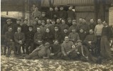 Cpa Carte Photo Militaire - Characters
