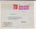 1934 - YVERT N° 292 (DOUMER) + PAIX Sur ENVELOPPE Pour COPENHAGUE (DANMARK) - MECA KRAG - France