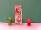 """2  Kinder Surprise Toy """"steinharte Typen""""  + Bpz - Lots"""