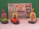 3 Cars Kinder Surprise  Toy  + Bpz - Lots
