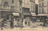 63 - CLERMONT-FERRAND - CPA - Le Marché Place St Pierre - Vue Animée - Clermont Ferrand