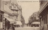 14 CPA VILLERS SUR MER - Rue De La Mer - Villers Sur Mer
