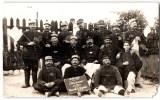CARTE PHOTO : MARSEILLE LE 10eme REGIMENT D'ARTILLERIE DETACHEMENT DU PHARO  1915 SOLDAT MILITAIRE - Regiments