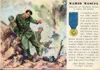 MEDAGLIE D´ORO DELLA SECONDA GUERRA MONDIALE: MARIO MASCIA. 1940 - Manovre