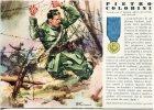 MEDAGLIE D´ORO DELLA SECONDA GUERRA MONDIALE: SOTTOTENENTE DEGLI ALPINI PIETRO COLOBINI. 1941 - Manovre