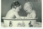 ENF059 - Histoire D'eau (enfants Dans Leur Baignoire) - Kinder