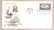 FDC 100th Anniversary International Red Cross  - Scott # 1239 - First Day Covers (FDCs)