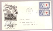 FDC International Red Cross  - Scott # 1016 - First Day Covers (FDCs)