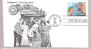 FDC Oklahoma! Broadway Musical - First Day Covers (FDCs)