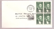 FDC Abraham Lincoln 1959 - First Day Covers (FDCs)