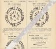 1904 Dépôt Brevet Petrole Eiffe Anvers Chaussure Picard Nancy Tire Bouchons Columbus Solingen - Documents Historiques