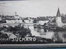 Soleure Suisse -Chocolat Suchard Neuchâtel Suisse— Chromo Image— - Suchard
