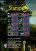 GREAT BRITAIN - 2007  SMILERS SHEET  STAMPEX AUTUMN - GARDEN BIRDS - Fogli Completi
