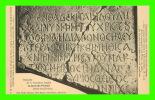 SAINTE-ANNE, JÉRUSALEM, PALESTINE - PÈRES BLANCS - ÉPITAPHE DIACONESSE SOPHIE, PHOEBÉ - PETIT MUSÉE BIBLIQUE - - Palestine