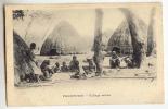D6927 - Freetown - Village Scene - Sierra Leone