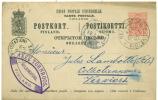 Finlande - Entier Postal De Helsingfors Vers Verviers (station) Du 30/01/92, Axel Törnroos, See Scan - Ganzsachen