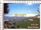 LIBAN -  LEBANON -  Mount Sannnine As Seen From Bikfaya - Mont Sannine Vu De  Bikfaya - Libano