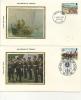 IOM FDC -1979 MILLENNIUM OF TYNWALD SET Of 5 SILK COVERS - Isola Di Man