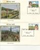 IOM FDC - 1979 ROYAL VISIT SET Of 2 SILK COVERS - Isola Di Man