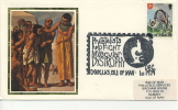 IOM FDC - 1979 PHILATELISTS HELP FIGHT MUSCULAR DYSTROPHY SILK COVER - Isola Di Man