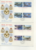 IOM FDC - 1978 ROYAL AIR FORCE - PAIR OF FDC With GUTTER PAIRS - Isola Di Man