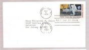 FDC First Man On The Moon  - #C76 - First Day Covers (FDCs)