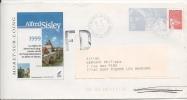 PAP Pret à Poster Moret Sur Loing Alfred Sisley 1999  Sur Timbre Marianne14 Juillet  Lot N°899/636/210 - Postal Stamped Stationery