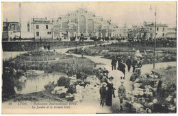 Expo  Internationale    1914    Lyon    Tampon  Officiel Expo  Verso - Expositions