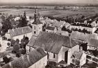 39 - Champvans : En Avion Au Dessus De... L'Eglise Et La Mairie - CPM Ecrite - Autres Communes