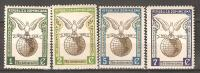 OM188 - REPUBBLICA DOMINICANA - Yvert &Tellier  N° 406/9 ** - 75° Anniversario Dell'U.P.U. - Repubblica Domenicana