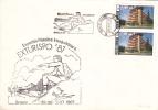 TURISM PHILATELIC EXHIBITION, 1987, SPECIAL COVER, OBLITERATION CONCORDANTE, ROMANIA - Other