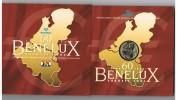 BELGIE  BENELUX  M/MS40  MUNTENSET  8 MUNTEN VAN DE 3 LANDEN   2004 - Bélgica