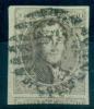 Belgique - No 10A, Oblitéré P 8 Barres, 4 Marges, Grand Voisin Inférieur, See Scan - 1858-1862 Medaillen (9/12)