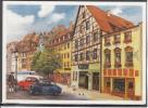 GERMANY Nurnberg Mallermeister Walter Wellhofer Cars Mint Postcard  #13571 - Neuburg