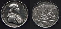 Médaille Argent - PIVS IX . PONTIFEX.1846-1878 - Voir Descriptif - Other