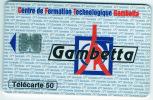 Télécarte  En  1086, 50 U, CFT - GAMBETTA, 11 - 94, 6 500  Ex, Cote  20 € - 50 Unidades