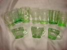 Série De 10 Petits Verres Vert - Glass & Crystal