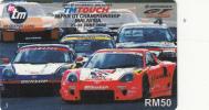 MALAYSIA - Japan GT Championship/Malaysia June 2002, Telecom Malaysia Recharge Card RM50, Exp.date 14/06/04, Used - Malaysia
