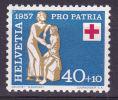 Helvetia Schweiz Zwitserland 1957  Mi.nr. 645  MNH  Pro Patria - Pro Patria