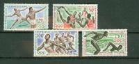Centrafricaine 1964, 4V,olympic Tokyo,athletics,speerwerpen,zwemmen,swimming, MNH/Postfris(D1343) - Zomer 1964: Tokyo